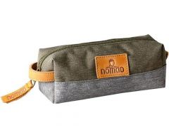Nomad Pencil Pouch Grey Olive Poly