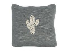 Quax Knitted Cushion - 30*30 Cm - Cactus