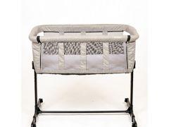 Quax Co-Sleeper Linen Grey