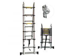 Telescopische Dubbele Ladder 3M80 … Treden