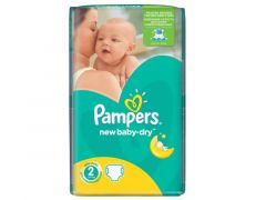 PAMPERS BABY DRY S2 42ST