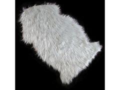Decoratie Vacht Fake Fur Grijs 60X100Cm