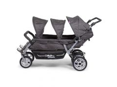 Six Seater Wandelwagen Anthracite Met Rem +Rc+Sc