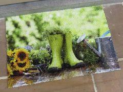 Deco-Scraper Groene Rubberen Laarzen 40X60Cm