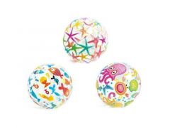 Intex 59040 Lively Print Beach Ball 51Cm 3 Assortie Prijs Per Stuk