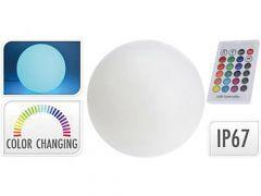 Led Bal 30Cm 12Led Lithium Batterij Remote 16 Colour Options