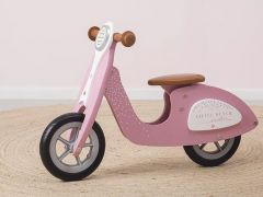 Scooter Hout - Pink