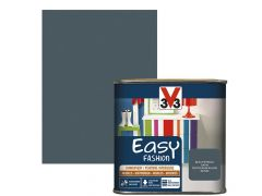 V33 Verf Easy Fashion 0,5L Satijn Petrolblauw