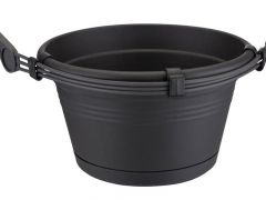 Elho Green Basics Hanging Basket 28Cm Living Black