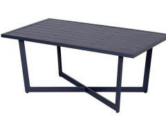 Ivy Bijzettafel 110X62.5Xh47Cm Aluminium Carbon Black