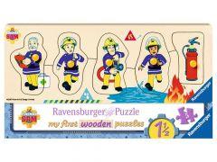 P My First Wooden Puzzle 5St. Fs Sam En Zijn Vrienden