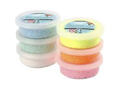 Foam Clay 6 Kleuren Glitter