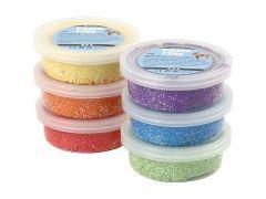 Foam Clay 6 Kleuren Metallic