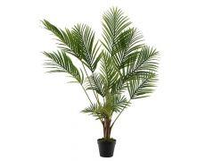 Palm Plastic Pot 14 Bladeren 125Cm Groen