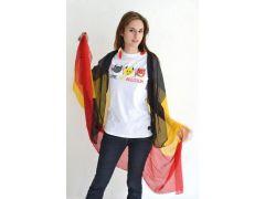 Belgium Tshirt Dames Wit Come On Belgium