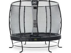 Exit Elegant Premium Trampoline 305Cm + Safety Net Deluxe Black