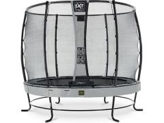 Exit Elegant Premium Trampoline 305Cm + Safety Net Deluxe Grey