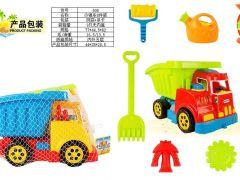 Auto Met Strandspeelgoed