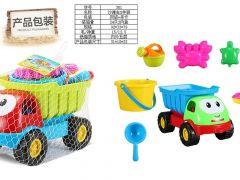 Kiepwagen Met Strandspeelgoed