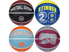Mini Basketbal Print Assortiment Kleuren 340 Gram