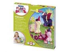 Staedtler Set Mod Klei Fimo Kids F&P Uniconr