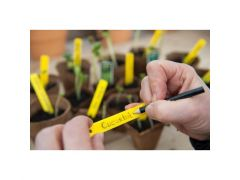 Plantenetiketten Met 1 Tuinpotlood - H10 Cm - 25 X