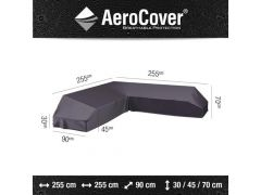 Aerocover Lounge Platform Hoes 255X255X90Xh30/45/70 Antracite
