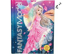 Fantasy Model Tekenboek Met Licht