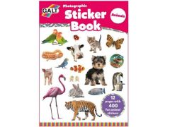 Stationery Photographic Sticker Book Animals