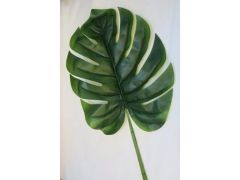 Monstera Leaf Green L
