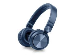 Muse M 276Btb Headphone Wireless Bluetooth Blue