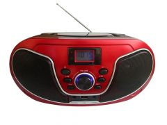 Mpman Csu 446 Bt Boombox Bleutooth With Pll Tuner Usb Rc
