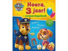 Paw Patrol Hoera 3 Jaar Verjaardagsboek