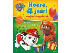Paw Patrol Hoera 4 Jaar Verjaardagsboek