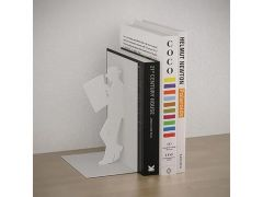 Bookend The Reader White