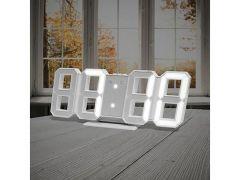 Alarm Clock Digital White