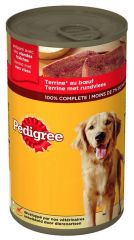 Pedigree blik terrine rund 1200gr