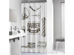 Barber Douchegordijn Zwart