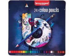 Bruynzeel Kleurpotloden 24 Blauw