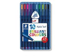 Staedtler Triplus Ball Balpen M - Box 10 Stuks New Design