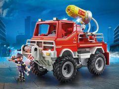 Playmobil 9466 Brandweer Terreinwagen Met Waterkanon