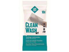 Dr Care Washandjes Clean Wash Vochtig Set/10