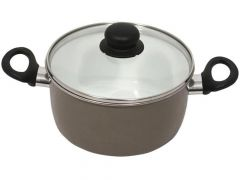 Taupe Kookpot 20Cm Email