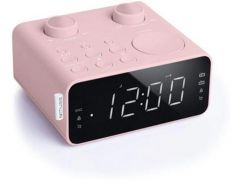 Muse M 17 Cpk Clock Radio Pink Finish