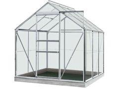 Serre Intro Grow - Daisy - 3,8M² Aluminium Poly 4Mm - 1,93M X 1,95M X H1,24M/1,95M