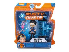 Rusty Rivets Figure & Mini Vehicle Build Pack