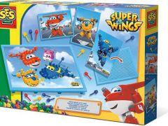 Ses Mozaiekbord Met Super Wings Kaarten