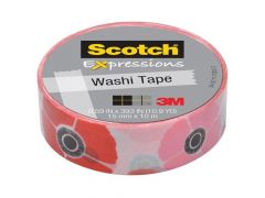 Scotch Expressions Tape Refill Klaproos 15Mmx10Mm