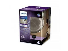 Philips Lamp Led Giant 40W E27 G200 3500K Smoky D