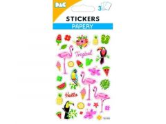 100 Sticker 145 065 Tropisch Vogel
